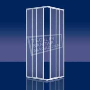 Plieger Economy (90x90x185 cm) douchecabine vierkant Aluminium 2,2 mm