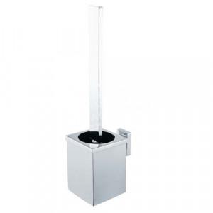 Edge chroom toiletborstel -
