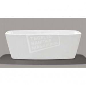Vrijstaand Beterbad Moniek (170x80x60cm) Duobad 200L Acryl Wit