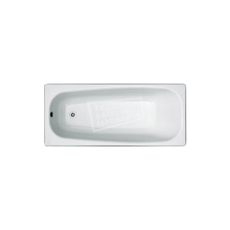 Plieger Brussel (170x75x42cm) Solobad Plaatstaal Wit
