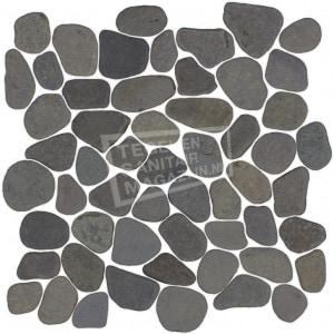 Black Bali Pebbels per m²