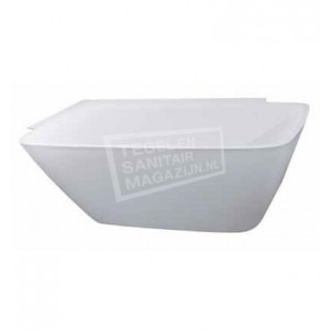 Beterbad Romeo Links (180x86x62 cm) Solid Surface Wit