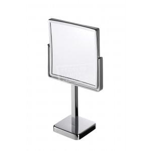 Geesa Mirror Scheerspiegel, vrijst., normaal+3x vergr., 190x190 mm (1082)