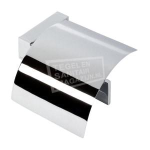 Geesa Modern Art Toiletrolhouder met klep (3508-02)