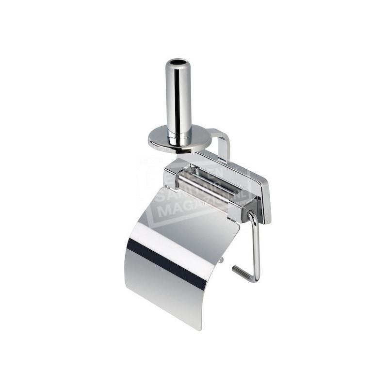 Geesa Standard Toiletrolhouder+veer+ klep+reserverolhouder