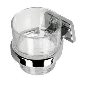 Geesa Standard Glashouder met gehard glas (7138-HG)