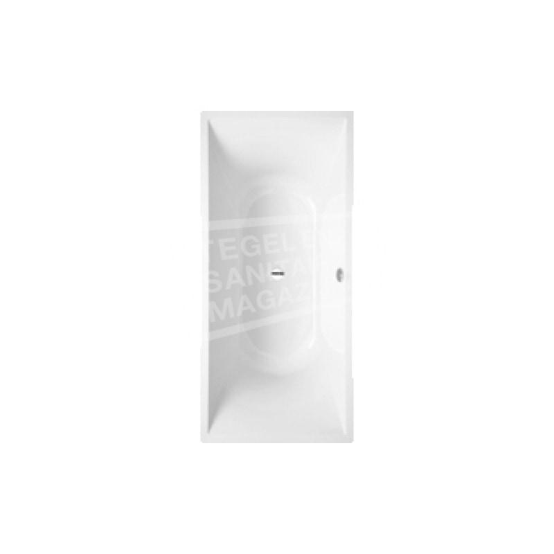 Villeroy & Boch La Belle Bad Quaryl Rechthoek 180x80 cm met Poten Wit