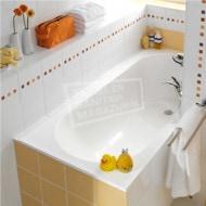 Villeroy & Boch Libra Bad 160x70 cm Quaryl Rechthoek met Poten Wit