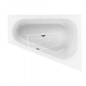Villeroy & Boch Loop & Friends Oval Bad Acryl Offset 175x135 cm Rechts met Ovale Binnenvorm Wit