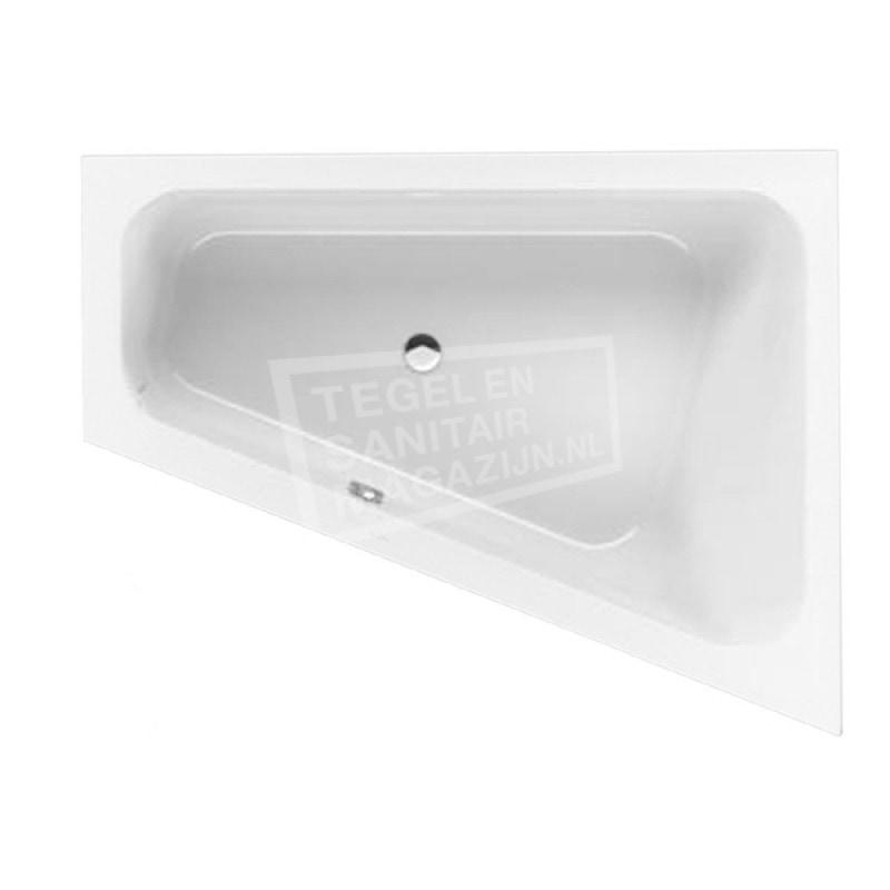 Villeroy & Boch Loop & Friends Square Bad Acryl Offset 175x135 cm Rechts met Hoekige Binnenvorm Wit