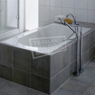 Villeroy & Boch Oberon Bad 180x80 cm Quaryl met Poten Wit