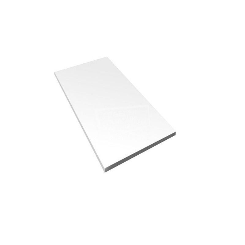 Wandtegel mat wit 30 x 60 cm gerectificeerd