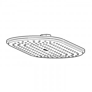 Grohe Rainshower Ondus Veris Hoofddouche 150 x 300 mm