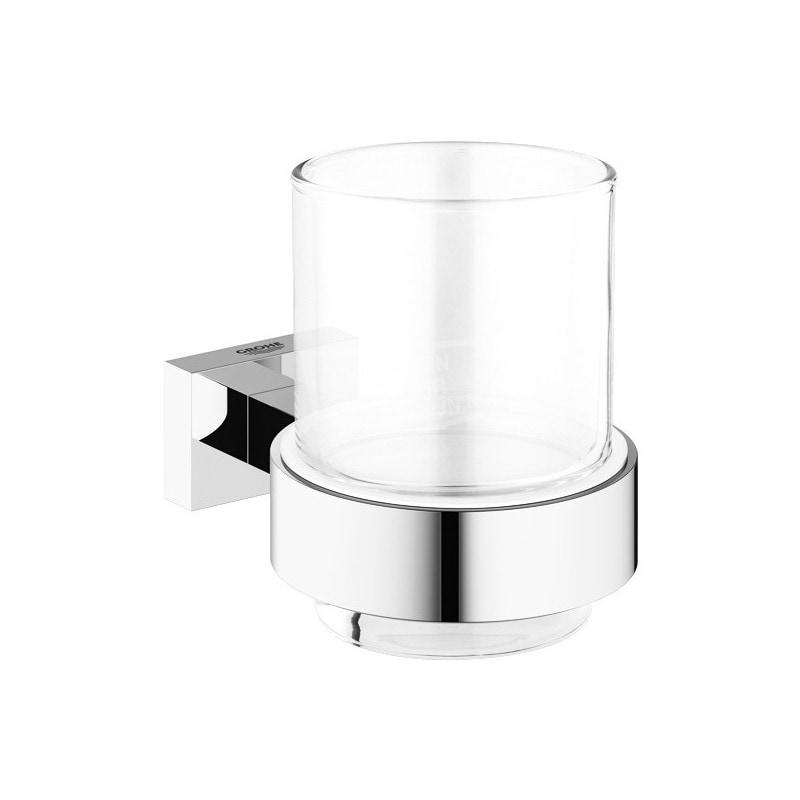 Grohe Essentials Cube Glas met Houder