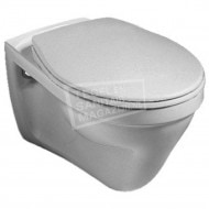 Gustavsberg Saval vlakspoel toiletset met Grohe Rapid SL en Skate Cosmopolitan bedieningspaneel