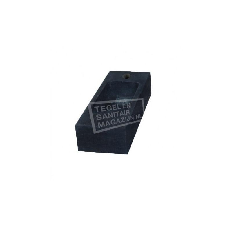 Sanilux Slim (45x17x10cm) Hardsteen Fontein