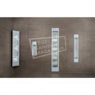 Sunshower Deluxe White UV- en Infrarood Inbouw 32x187x16cm Full Body 2000W Aluminium