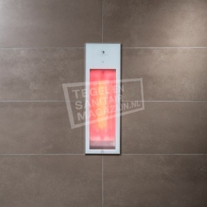 Sunshower Pure White Infraroodcabine 19.9x61.9x10cm Half Body 1250watt Aluminium