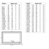 Beterbad Mariana (80x80x4 cm) douchebak Vierkant Wit