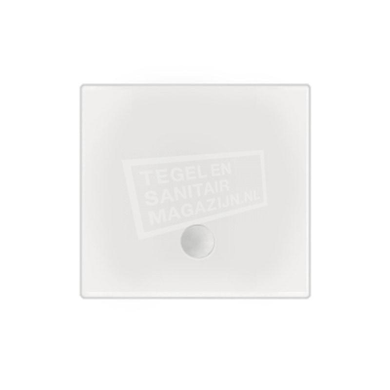 Beterbad Flat (100x100x3,5 cm) douchebak Vierkant Wit