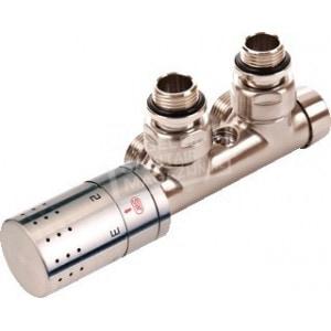 Comap Sensitive Design Set Haaks RVS H-blok met Thermostaatkop