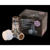 Best Design Luxe Thermostatisch voorbereid ventiel Axiaal 1/2''x15) Chroom
