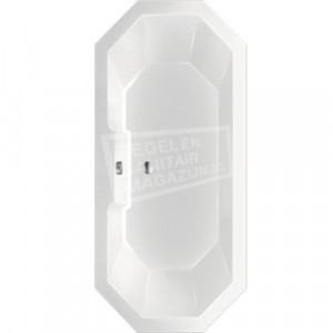 Beterbad Sumba (175x80x45cm) Duobad 230L Acryl Wit