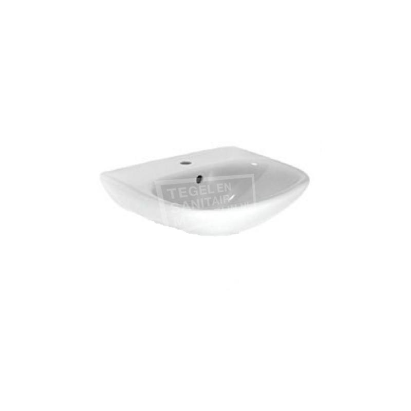 Plieger Brussel (60x47cm) Wastafel Wit