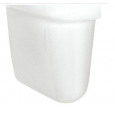 Brussel New sifon kap voor wastafel wit