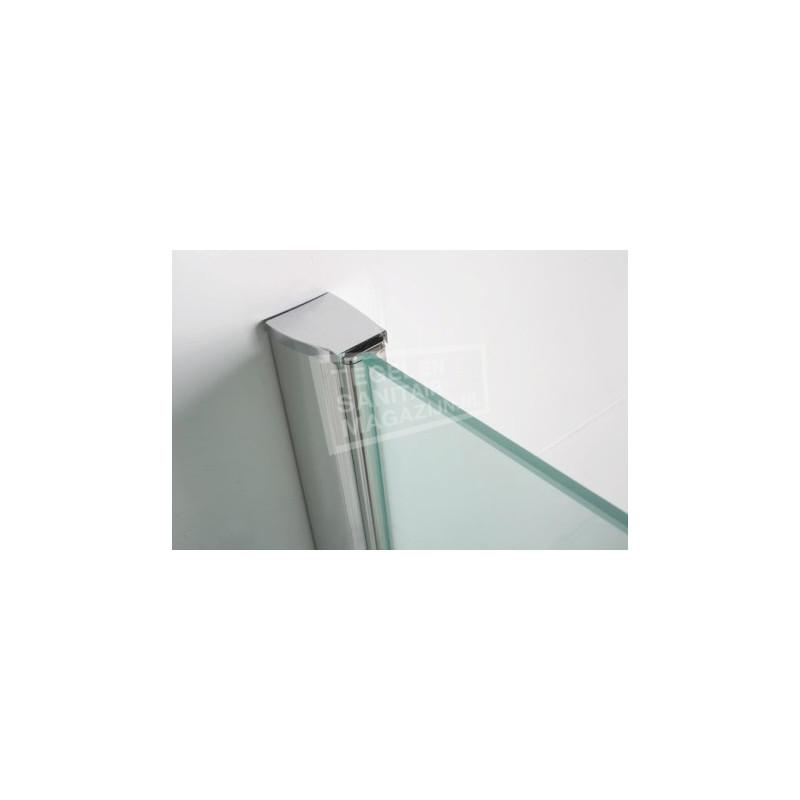 Mueller Spare Chroom muurprofiel glaswand dikte 1cm L=200cm