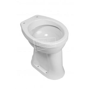Wiesbaden Staande Verhoogde Toiletpot  + 6 Ao Wit