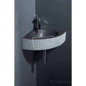 Forzalaqua Turino Fontein Kwartrond Hardsteen Gefrijnd 30x30x10 cm
