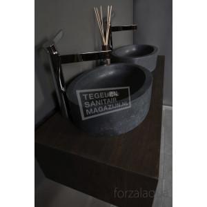 Forzalaqua Firenze Waskom Basalt Gezoet 50x35x12 cm