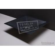 Forzalaqua Milano Waskom Basalt Gezoet 45x45x12 cm