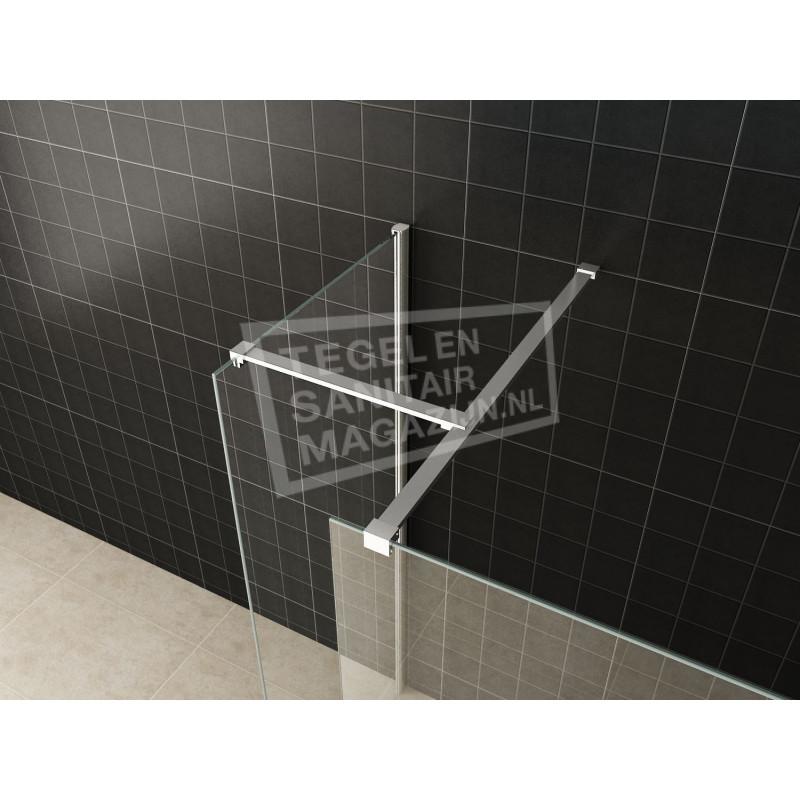Schulz Inloopdouche Combinatie-Set 130x90x200 10 mm NANO