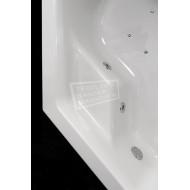 Whirlpool Bibury Napels Combi (145x145x44,5cm) Hoekbad Pneumatisch