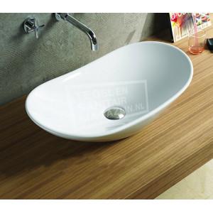 Sanilux Acosta (62x34x14,5cm) keramische waskom