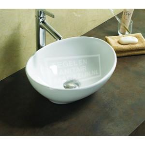 Sanilux Vienna (40,5x33x14cm) keramische waskom