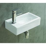 Sanilux Lavabo (45x25x12cm) Keramische fontein