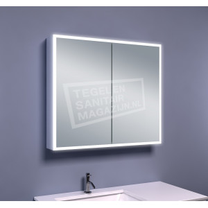 Mueller Viertel Spiegelkast met Verlichting (80x70x13 cm)