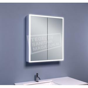 Mueller Viertel Spiegelkast met Verlichting (60x70x13 cm)