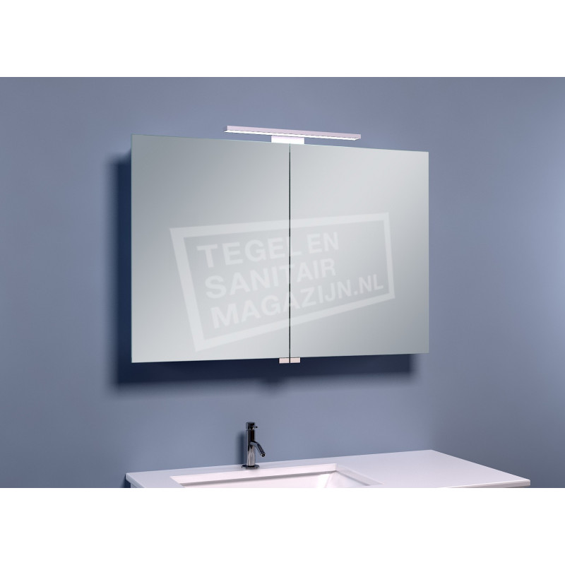 Schulz Large Luxe Spiegelkast met LED Verlichting (90x60x14 cm)