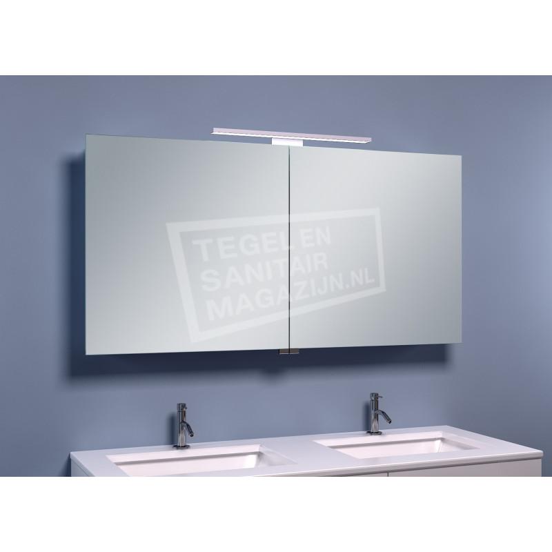 Schulz Large Luxe Spiegelkast met LED Verlichting (120x60x14 cm)