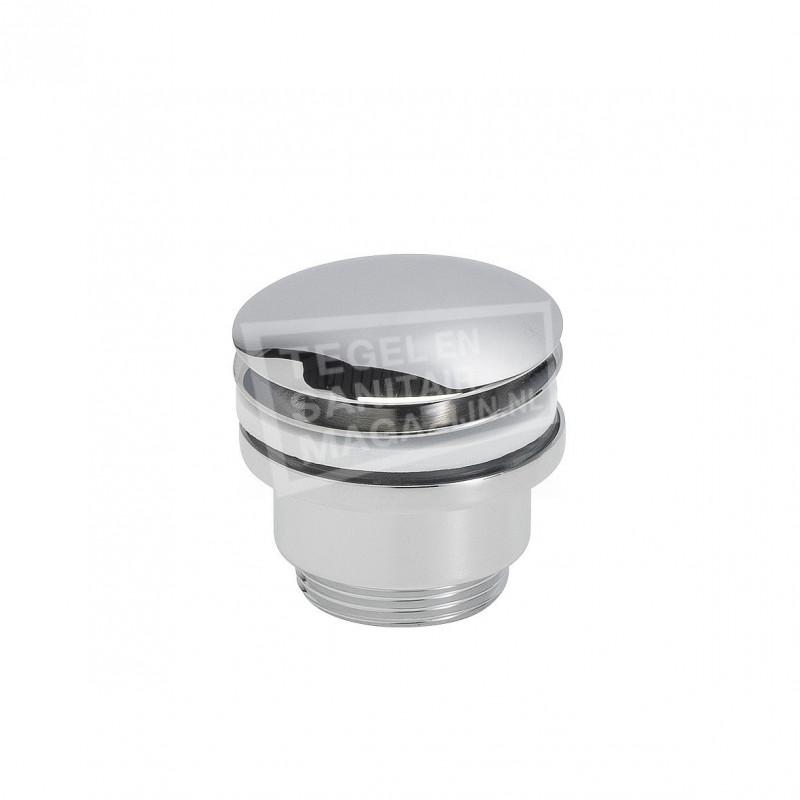 Luxe Clickwaste 5/4 laag model chroom