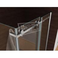 Wiesbaden Kreuz (120x80x200 cm) douchecabine rechthoek 8 mm NANO Anti-kalkbehandeling