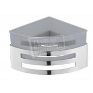Sanilux Alveare Design Shampoo Korf Hoek Model met Inzet Kunsstof