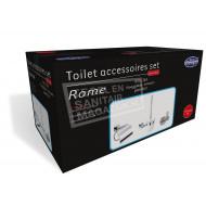 Best Design Rome One Pack Toilet Accessoires Set Chroom