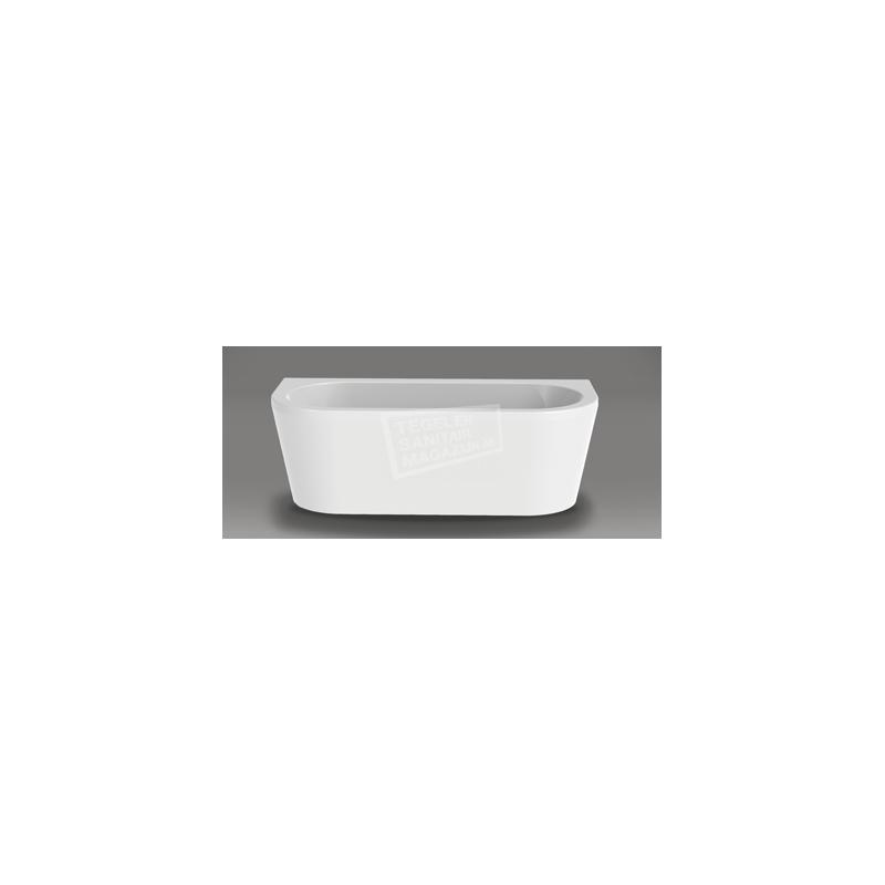 Vrijstaand Beterbad Charley (180x80x60cm) Duobad 230L Acryl Wit