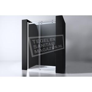 Best Design Erico 110 cm Douchedeur Nis Schuifdeuren 8 mm Muurprofiel NANO