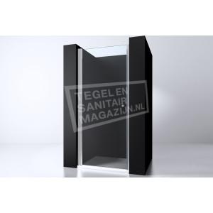 Best Design Erico 90 cm Douchedeur Nis Draaideur 6 mm Muurprofiel NANO